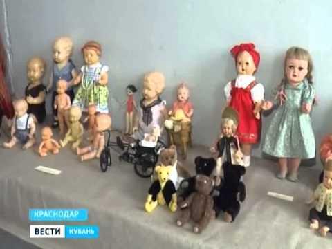 Куклы из прошлого в современном Краснодаре