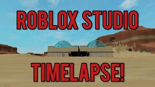 Roblox Studio Speedbuild: Creating My Game (TIMELAPSE)