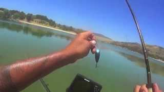 CRANKENSTEIN RIP RAP AT CASTAIC LAGOON 4 LARGE MOUTH BASS