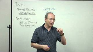 How To Take Better Lecture Notes | LBCC Study Skills