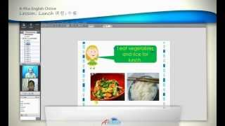 A-Plus English Online Video Lesson: Lunch | English vocabulary | How to learn English language