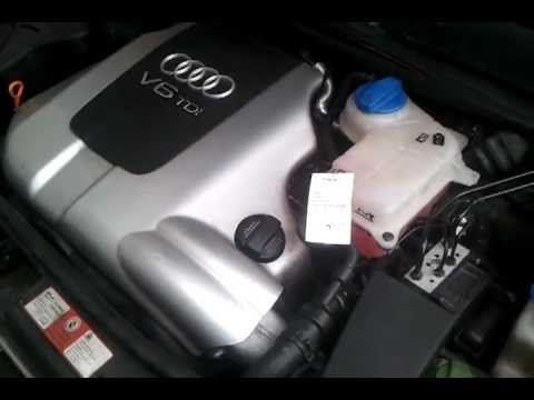 audi a6 2 5 tdi v6 kaltstart cold start youtube. Black Bedroom Furniture Sets. Home Design Ideas