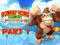 Donkey Kong Country Tropical Freeze Walkthrough Part 1 - 100% World 1 Lost Mangroves Wii U Gameplay