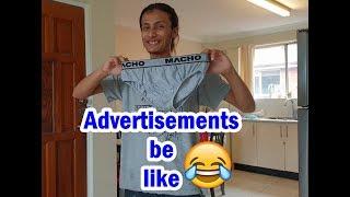 Advertisements be like || Funny video || kushal pokhrel
