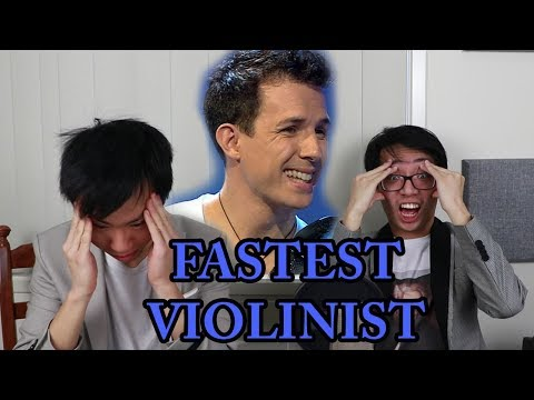 The World's FASTEST (and most INACCURATE) VIOLINIST!