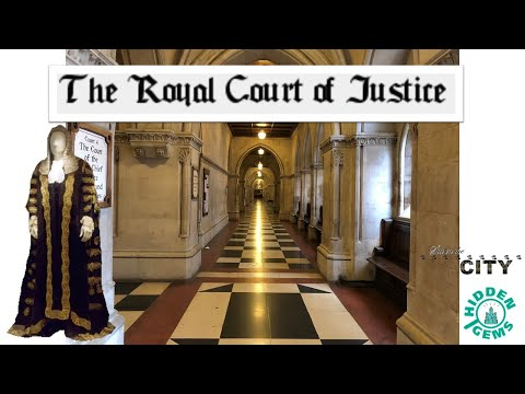 Royal Courts Of Justice | Hidden Gems | London