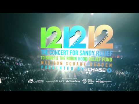 12-12-12 The Concert for Sandy Relief - LIVE op Acht