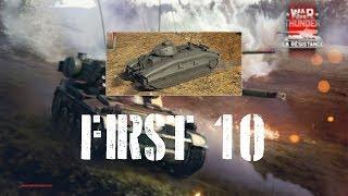 War Thunder First 10 - Char B1 ter