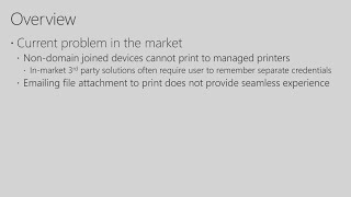 Solving your printing problems with Windows Server and Microsoft Azure