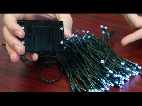 100 LED Solar String Lights By I-Zoom