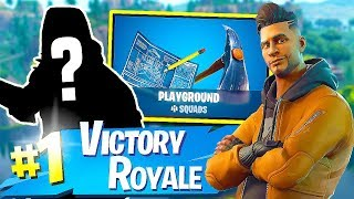 Fortnite-PLAYGROUND MODE!! NEW SKINS TOMORROW!?! FREE SKINS! -Soils & Squads