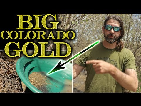 I Spent the Day Gold Prospecting Cache Creek, Colorado with Friends and PJ!