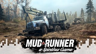 Hardcore Mode! - SPINTIRES: MUDRUNNER (Multiplayer Gameplay) - EP17