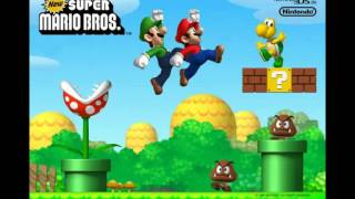 New Super Mario Bros Ds Trampoline Time Minigame Theme