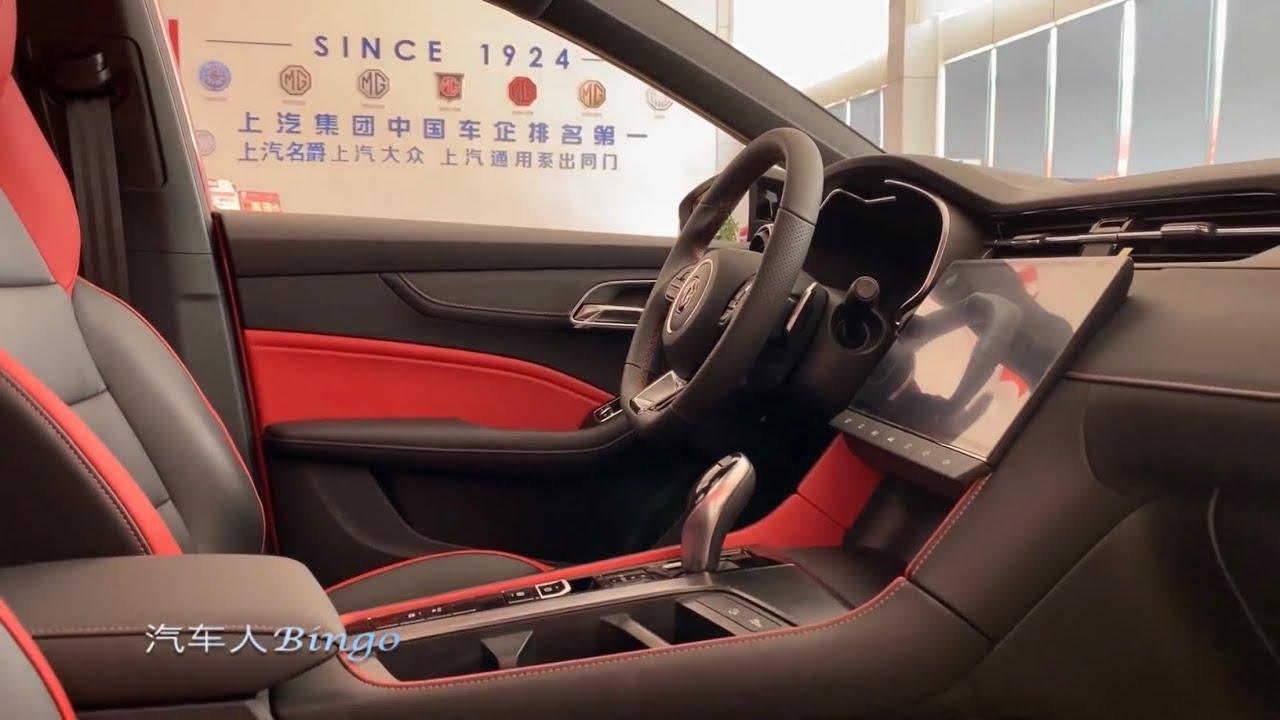 تغطية حصرية لسيارة ام جي ٦ موديل ٢٠٢١ تصوير China Auto Show Youtube