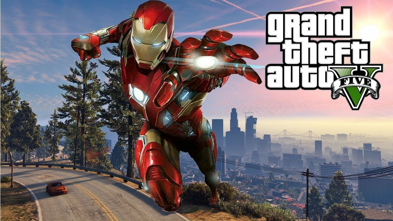 GTA V Iron Man Mod Gameplay With Installation