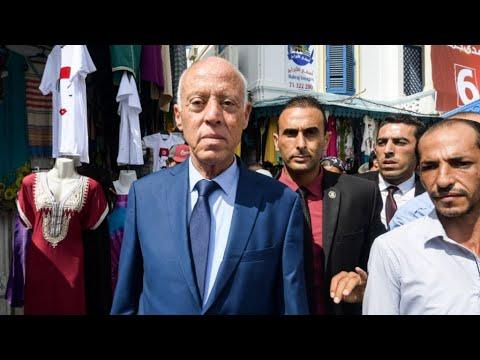 Présidentielle en TUNISIE : PORTRAIT de Kaïs Saïed