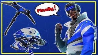 FREE Blue Streak Accessories - Glider Pickaxe Contrail - Fortnite Battle Royale