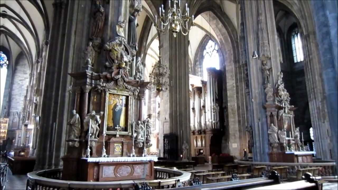 Vienna Austria, Stephansdom Interior HD Video Tour - St. Stephen's Cathedral, Wien