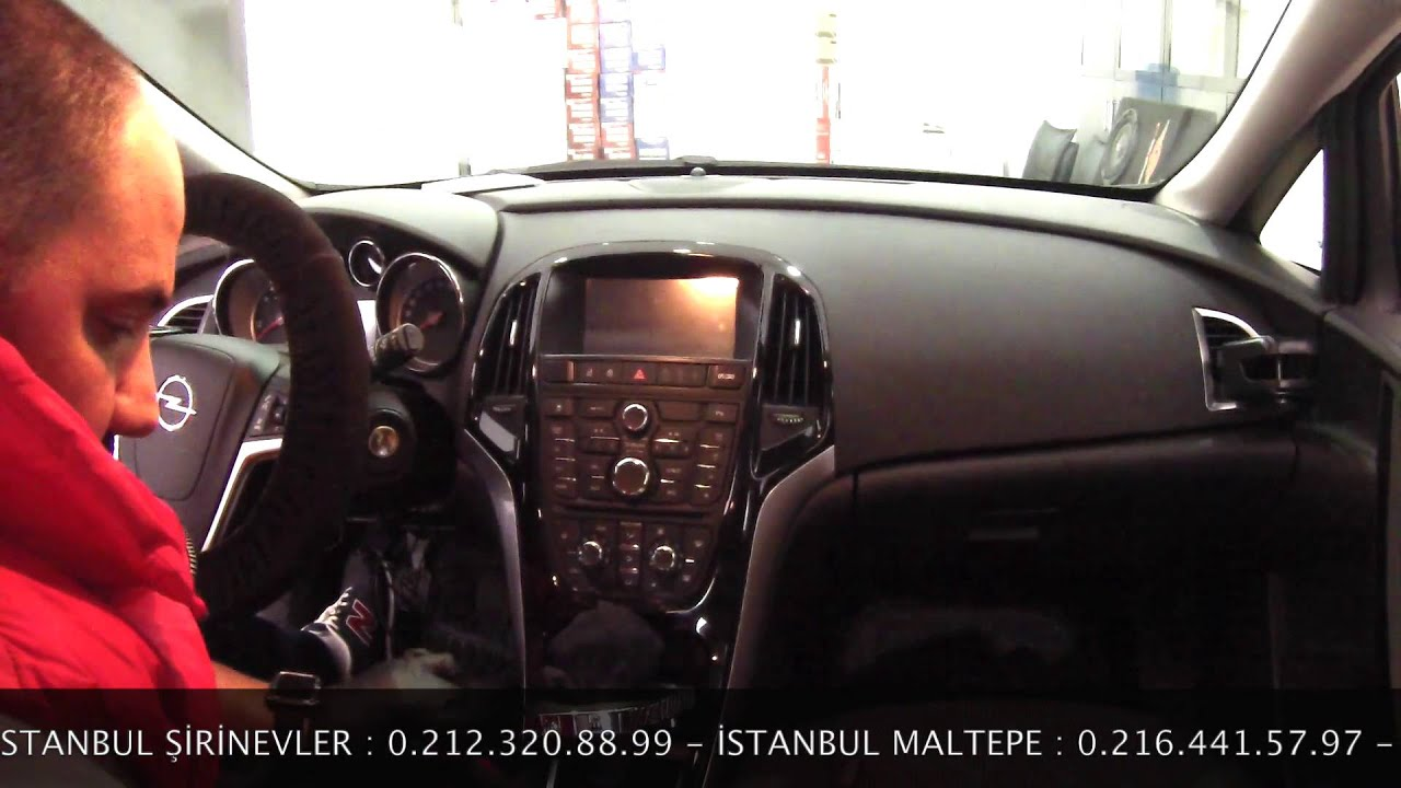 Opel Astra J Android Navigasyon Multimedya Sistemi Montaj ...