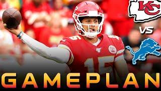 Chiefs vs. Lions Gameplan - Patrick Mahomes + Mecole Hardman   NFL Week 4   Kansas City Chiefs News
