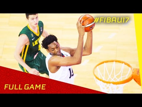 USA v Lithuania - Semi Final - Full Game - FIBA U17 World Championship 2016