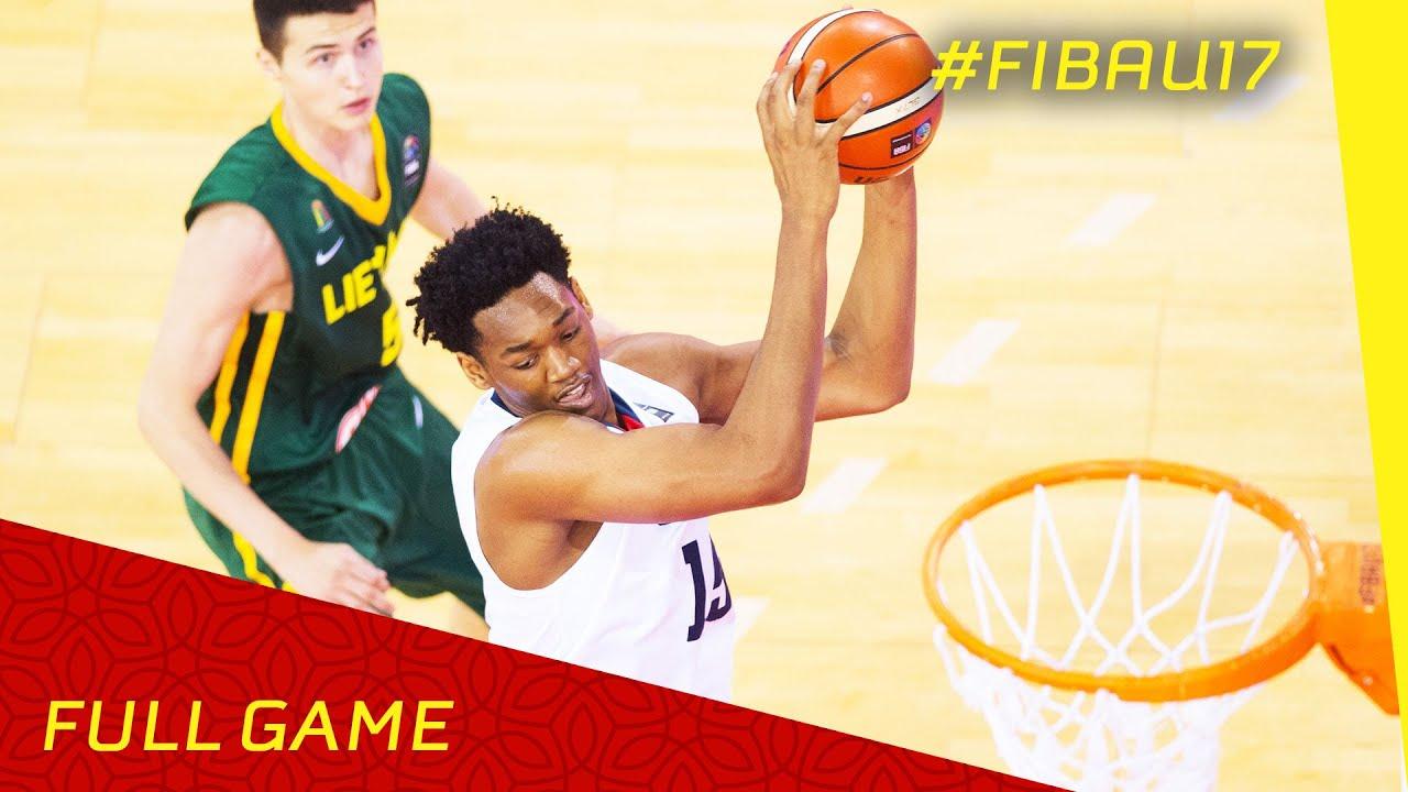 USA v Lithuania - Semi Final - Live