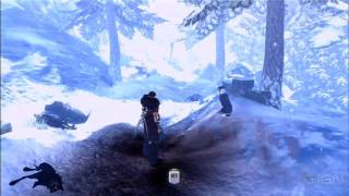 Fable III Gameplay: Combat in the Snow - E3 2010