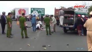 Phú Yên: Tai nạn giao thông tại ngã tư Trần Phú & Hùng Vương