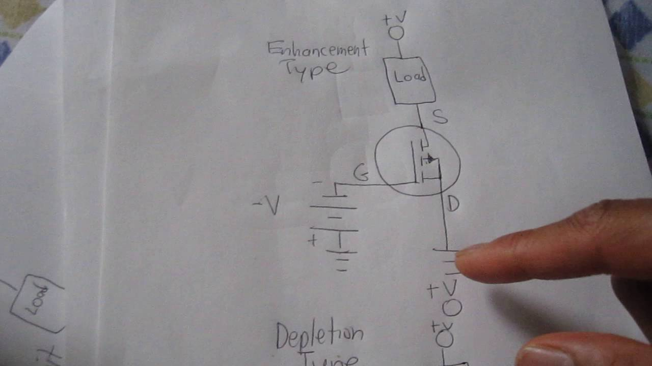 How To Bias A P Channel Mosfet Youtube Switch Circuit Diagram