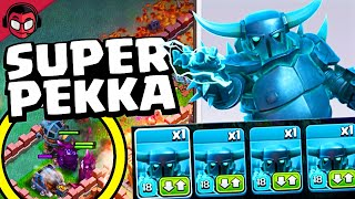PRIMERA VEZ CON SUPER PEKKA ¡¡NO SALE TAN MAL!! | Clash of Clans