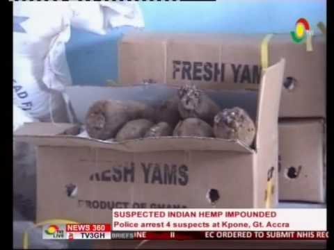 Police arrest 4 suspects trying to transport Indian hemp  - 23/6/2016