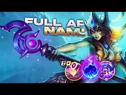 Limit Testing With FULL AP Nami Support – League of Legends