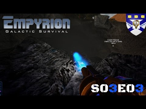 """Empyrion Galactic Survival (S03) -Ep 3 """"Mining Madness"""" -Multiplayer """"Let's Play"""""""