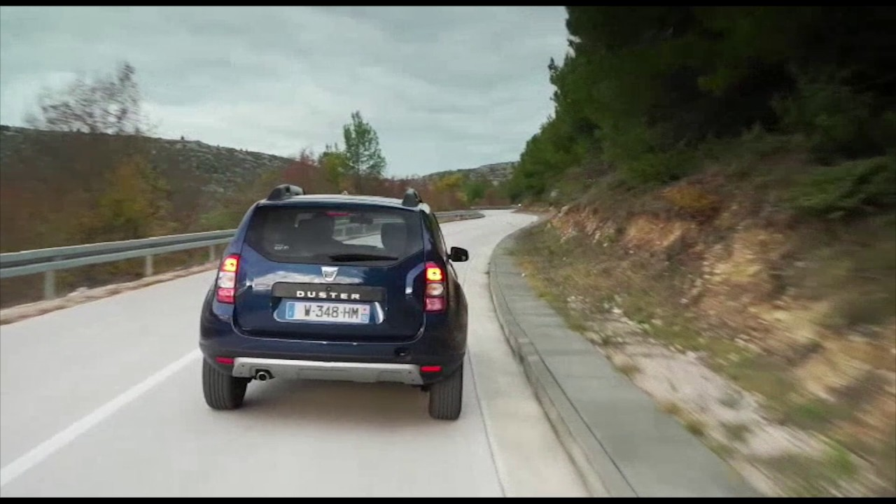 2016 Dacia DUSTER EDC Driving Video