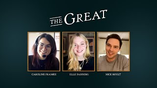 A Special Discussion with Elle Fanning \u0026 Nicholas Hoult from The Great