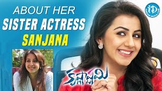 Nikki Galrani About Her Sister Actress Sanjana || Krishnashtami || Talking Movies With iDream