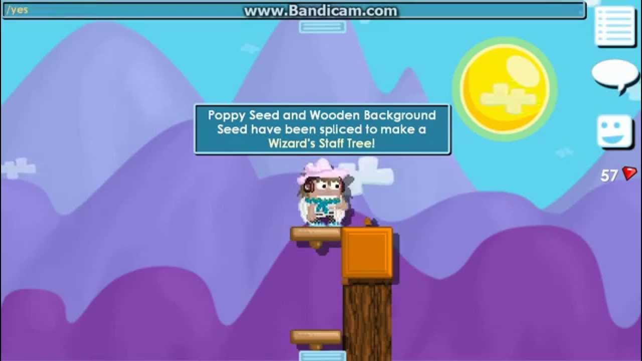 steel chair growtopia how to make making wizard s staff tree youtube