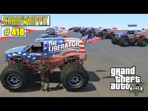 MONSTERTRUCKS VS MONSTERTRUCKS  GTA 5 Online med SoftisFFS  418