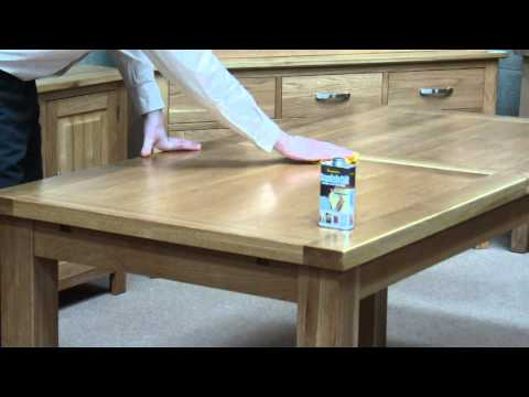 How to apply Danish Oil to a Solid Oak Table