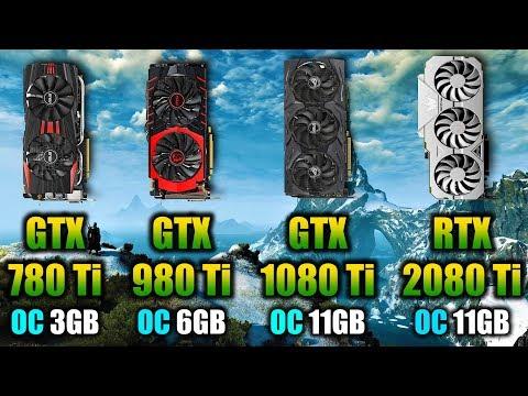 GTX 780 Ti OC Vs GTX 980 Ti OC Vs GTX 1080 Ti OC Vs RTX 2080Ti OC