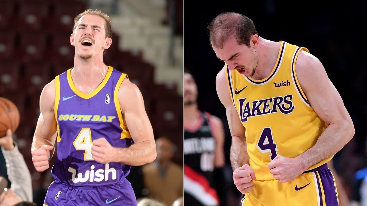 8564d4063ef Lakers  Alex Caruso TOP PLAYS with South Bay   Los Angeles! - YouTube