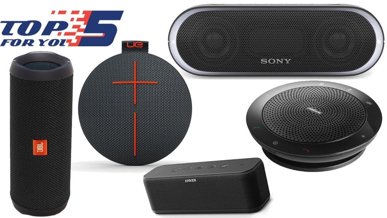 Top 5 Best Portable Bluetooth Speaker Under 100 Dollars Youtube
