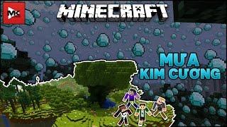 Cơn Mưa Kim Cương, Ngọc Lục Bảo, Hắc Diện Thạch trong Minecraft Server : mineflex.net | MK Gaming