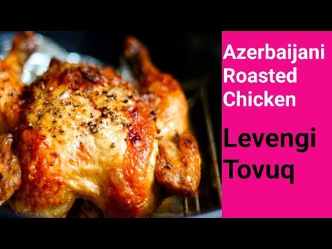 Azerbaijani Cuisine | Roasted Chicken with Nuts & Raisins | Tovuq Levengi