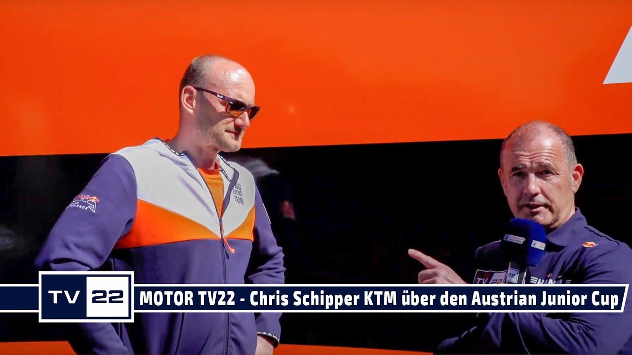 MOTOR TV22: Chris Schipper, Geschäftsführer KTM, über den Austrian Junior Cup