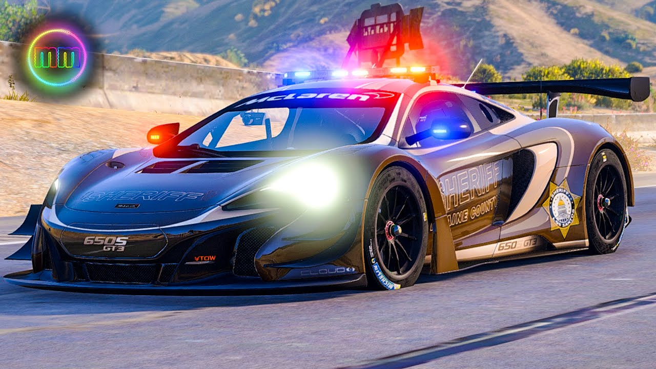 gta 5 lspdfr sport car patrol back at it with the mclaren 650s