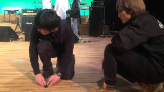 【SHOW!】音響スタッフさん、舞台上での一コマ(グラコン2016)