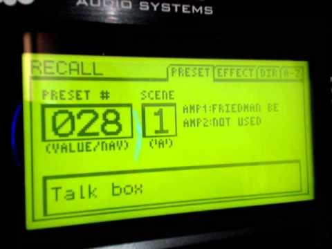 Axe Fx II presets V 9.02 + MFC-101 and scenes demo