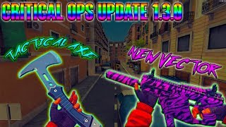 Critical Ops 1.3.0 Update - New Vector + Tactical Axe! New Map HEAT! 1080p60fps Gameplay 2019